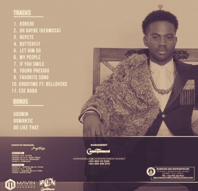 MP3: Korede Bello – Repete