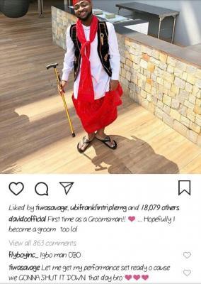 "Davido Speaks Of Getting Married ""Soon"", Flaunts Wards Of Cash, Tiwa Savage Reacts"