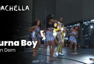 VIDEO: Burna Boy - Killin Dem (Live At Coachella)