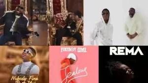 Hottest Top 12 Naija Songs Trending in 2019 So Far