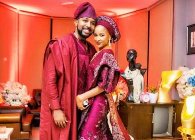 Banky W & Wife, Adesua Etomi In Self Isolation After Getting Exposed To Coronavirus Victim At The 2020 AMVCA