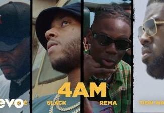 VIDEO: Manny Norte ft. Rema, 6lack, Tion Wayne, Love Renaissance - 4AM