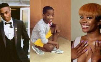 Wizkid & First Babymama, Shola Ogudu Celebrate Their Son, Boluwatife As He Clocks 9 Years