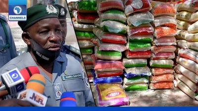 Customs: We Gave Bandits 7 Bags Of Seized Rice To Save Our Lives