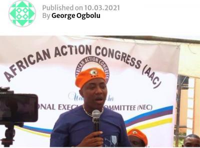 AAC Expels Omoyele Sowore