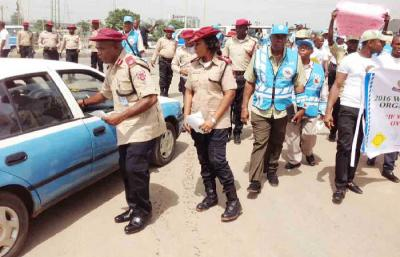 FRSC Officers Assist Woman In Labour To Deliver Baby Boy In Lagos