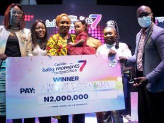 Naomi Efan-Okon Is Cussons Baby Of The Year Season Wins, ₦2 Million, Gifts