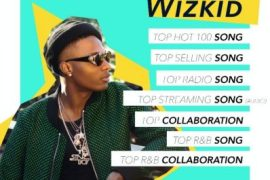 Wizkid Wins 3 Awards At The Billboard Music Awards 2017