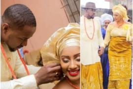 Nollywood actor, Mofe Duncan celebrates second wedding anniversary with wife
