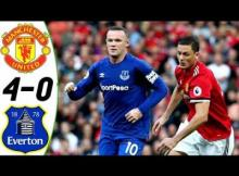 Video: Manchester United vs Everton 4-0 2017 All Goals & Highlights