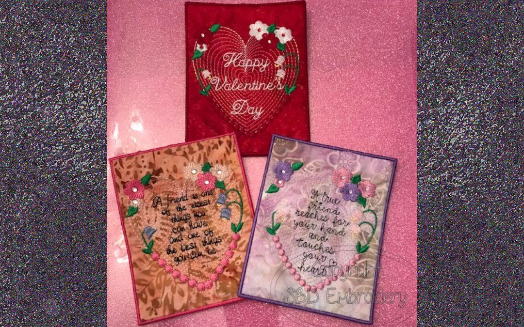 Stitch a Valentine for Your Valentine!