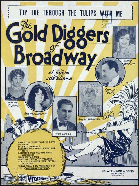TipToe-ThroughtheTulips-Gold Diggers