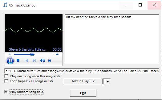 Screen Shots of iTunes Alternative - Song Director