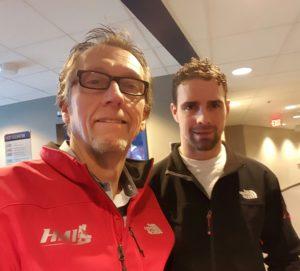 With the Canucks Dan Hamhuis