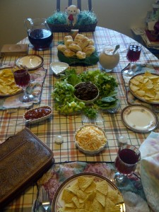 Passover in the Dawson household