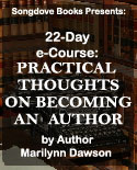 Songdove Books - e-Course based on Practical Thoughts on Becoming an Author
