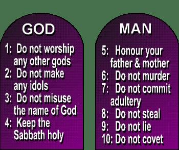Songdove Books - 10 Commandments