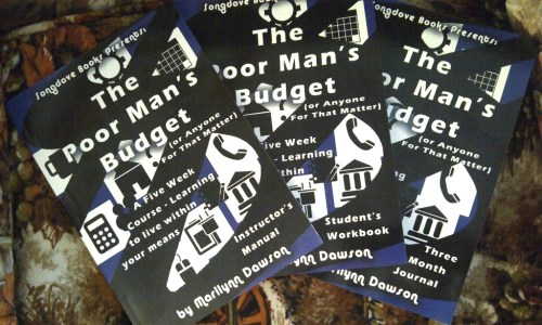 The Poor Man's Budget: a 5 Week Course – Learning to Live Within Your Means