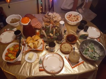 Christmas Dinner: Father God is the Lord of the Feast!