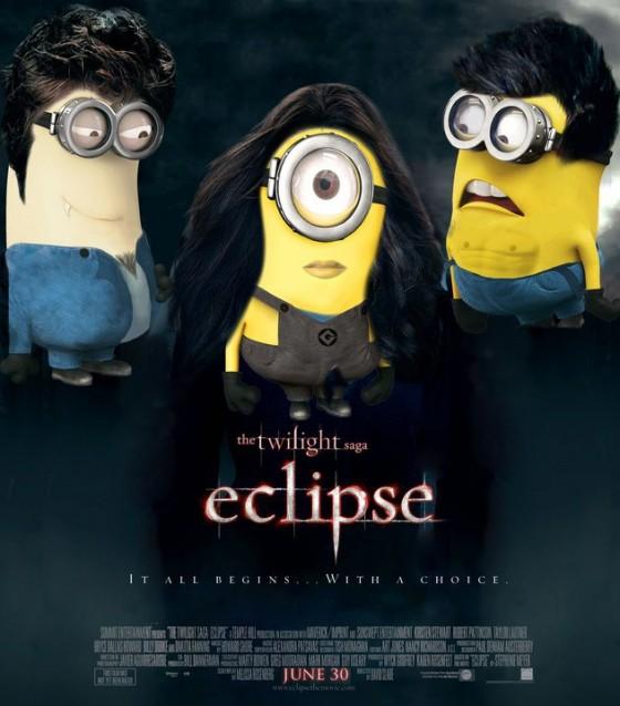 Eclipse façon Minions de Despicable Me