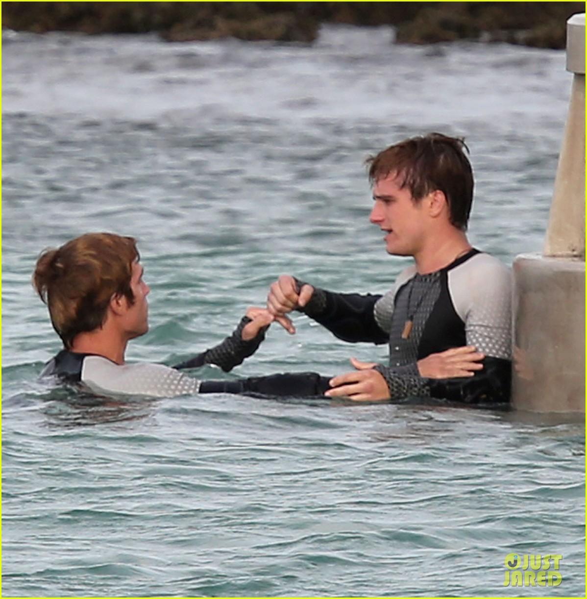 Nouvelles Photos Du Tournage de Hunger Games 2 : Catching Fire / L'Embrasement !