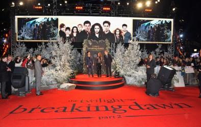 Avant-Première de Breaking Dawn Part 2 (Twilight chap 5) à Londres – Les premières Photos !