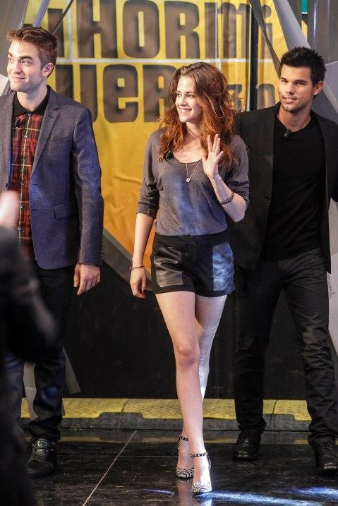 Concours de Grimaces Avec Robert Pattinson, Kristen Stewart & Taylor Lautner Chez El Hormiguero