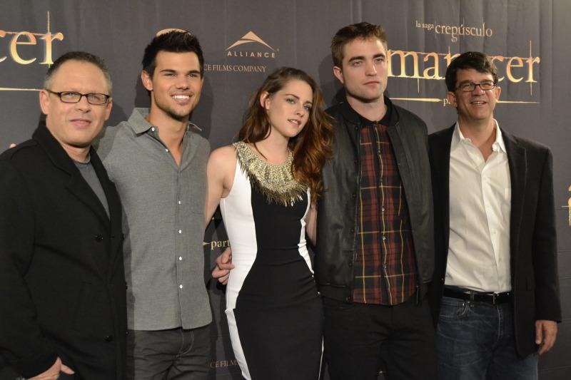 Conférence de Presse Pour Breaking Dawn Part 2 : Photocall avec Kristen Stewart, Robert Pattinson & Taylor Lautner !