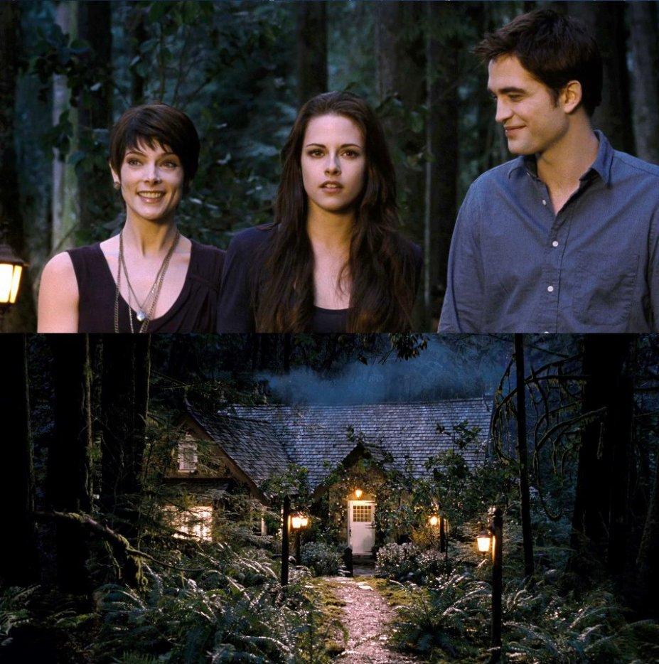 Alice Bella Edward au Cottage