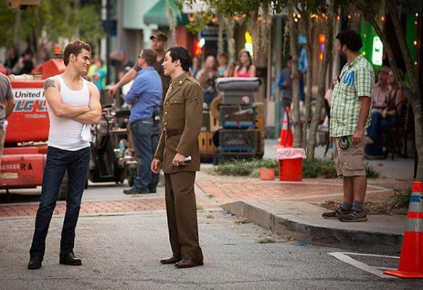 tvd 4x08 Behind The Scene - Ian & Paul