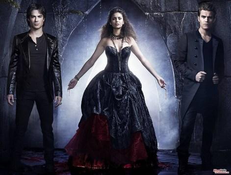 Damon Elena & Stefan - TVDpromoS4 - zoom