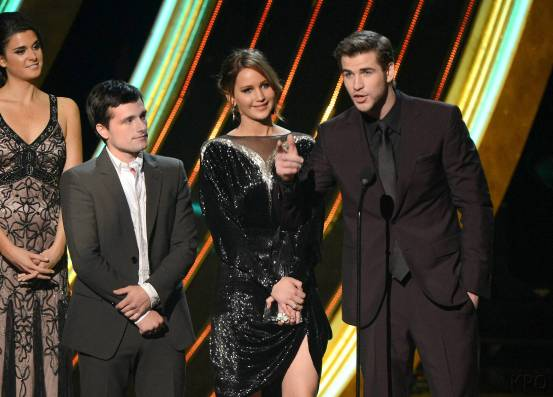 Hunger Games Cast - PCA -2013 -Nominations- 010