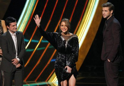 Hunger Games Cast - PCA -2013 -Nominations- 012