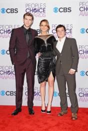 Hunger Games Cast - PCA -2013 -Press-Room- 008