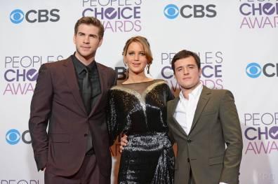 Hunger Games Cast - PCA -2013 -Press-Room- 009