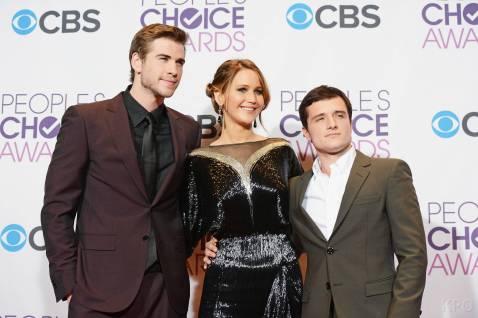 Hunger Games Cast - PCA -2013 -Press-Room- 012