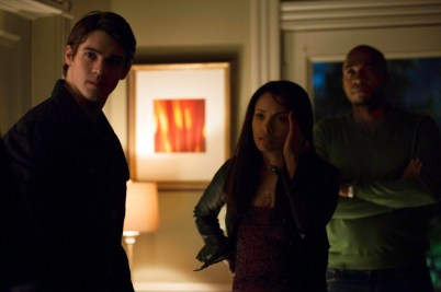 TVD 4x12 A View to a Kill - Jeremy, Bonnie&Rudy