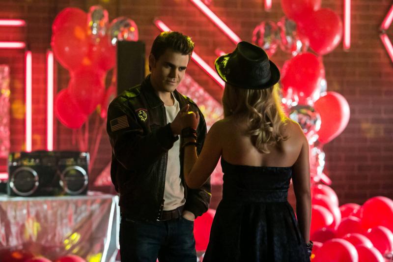 TVD 4x12 A View to a Kill - Stefan&Rebekah2