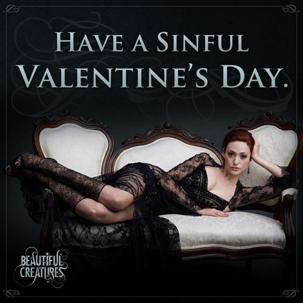 Beautiful Creatures - Ridley vous souhaite une joyeuse St Valentin