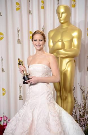 Jennifer Lawrence - L'Après Oscar - La Press Room 008