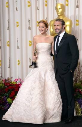 Jennifer Lawrence - L'Après Oscar - La Press Room 016