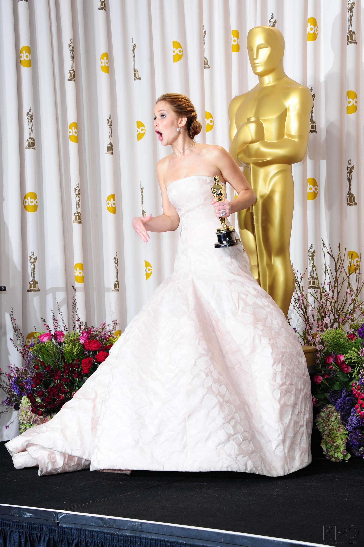 Jennifer Lawrence - L'Après Oscar - La Press Room 025