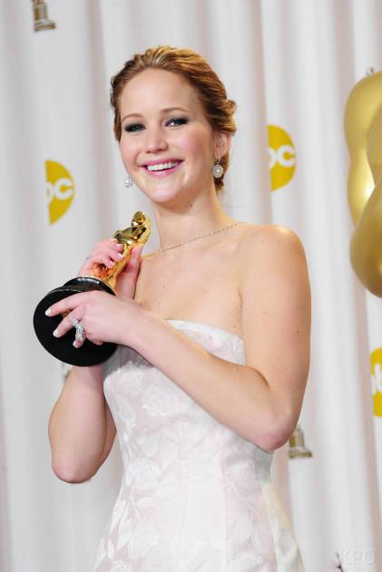 Jennifer Lawrence - L'Après Oscar - La Press Room 030