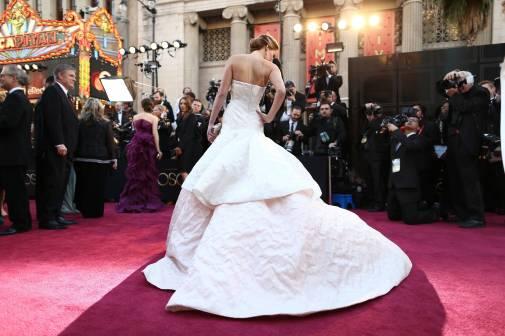 Jennifer Lawrence - Le Red Carpet de la 85eme Cérémonie des Oscars 023
