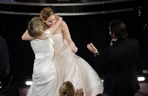Jennifer Lawrence - Meilleure Actrice Pour Hapiness Therapy 009