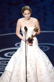 Jennifer Lawrence - Meilleure Actrice Pour Hapiness Therapy 010