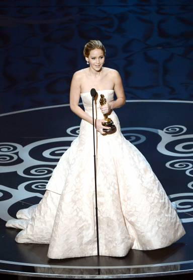 Jennifer Lawrence - Meilleure Actrice Pour Hapiness Therapy 013