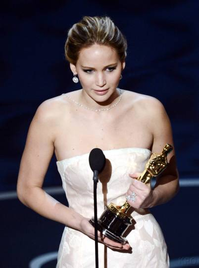 Jennifer Lawrence - Meilleure Actrice Pour Hapiness Therapy 017