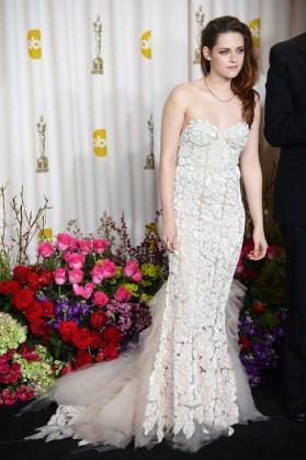 Kristen Stewart à la 85eme cérémonie des Oscars -La Press Room 06