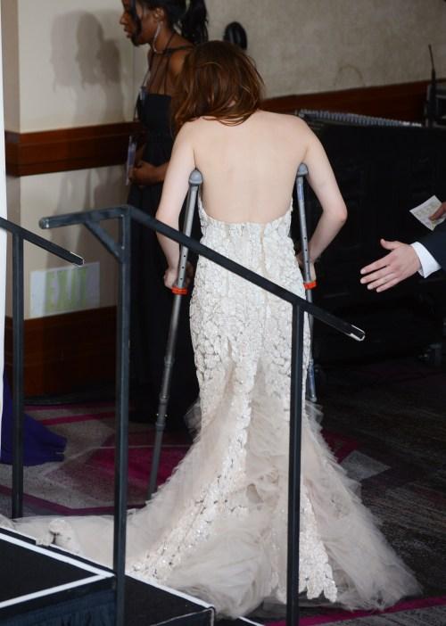 Kristen Stewart à la 85eme cérémonie des Oscars -La Press Room 08